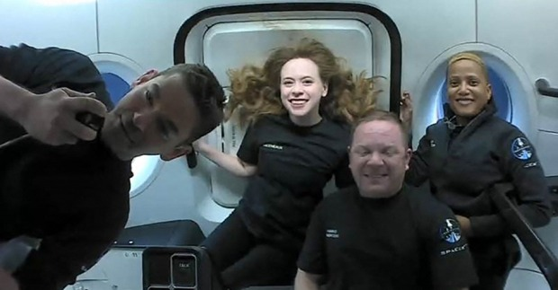 Weltraum-Touristen glücklich zurückgekehrt