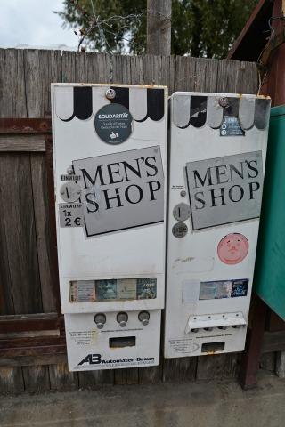 Der nähe in kondomautomat Kondomautomat