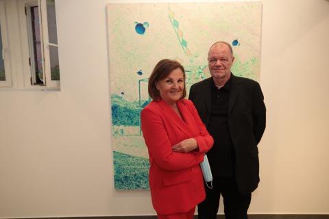 "Galerie Sechszig Uros Weinberger ""Projectories"""