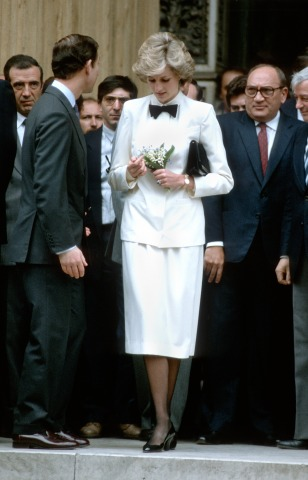 Prinzessin Diana bei der Royal Tour of Italy