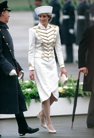 Prinzessin Diana Sandhurst Military Academy