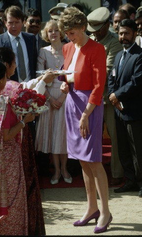 Prinzessin Diana Taj Mahal