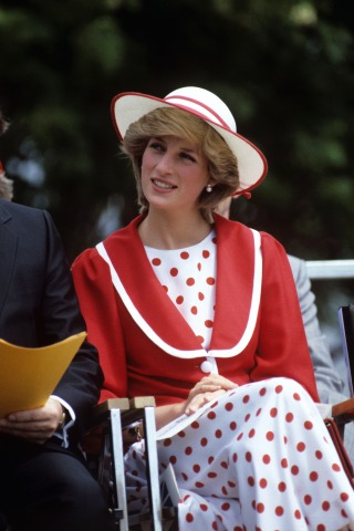 Lady Diana Royal Tour of Canada