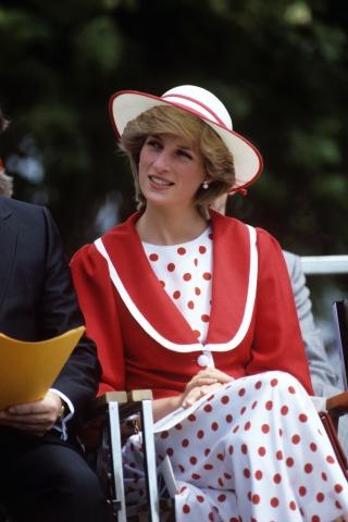Lady Diana Royal Tour of Canada