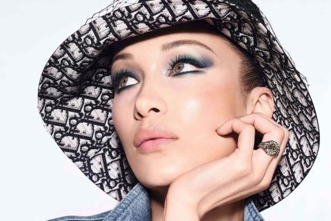 Bella Hadid, Make Up von Dior