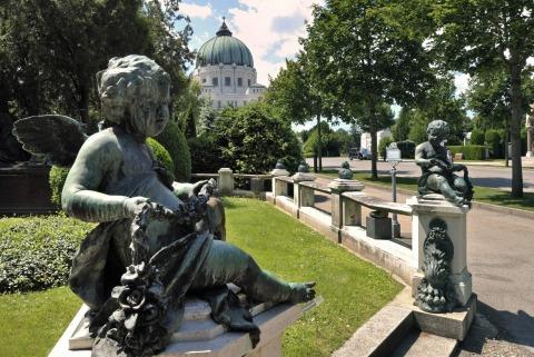 Ehrengräber am Zentralfriedhof