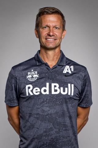 Jesse Marsch, Trainer FC Red Bull Salzburg | Credit: GEPA pictures/Red Bull Salzburg Media