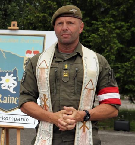 Richard Weyringer, Pfarrer Hallwang/Militärpfarrer Sbg. | Credit: Richard Weyringer
