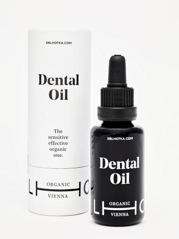 Dr. Lhotka Dentail Oil Glasflasche mit Umverpackung