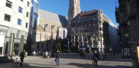 Blick auf den Stephansplatz