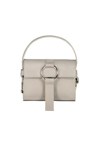 Hellgraue Damentasche von Julia Skergeth