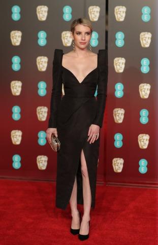 Emma Roberts BAFTA 2018 | Credit: DANIEL LEAL-OLIVAS/AFP/picturedesk.com