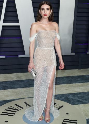 Vanity Fair Oscar Party 2019 Emma Roberts | Credit:  ImagePressAgency/Action Press/picturedesk.com