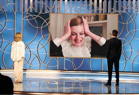Emma Corrin (The Crown) wurde als beste Hauptdarstellerin einer Miniserie (Drama) ausgezeichnet | Credit: CHRISTOPHER POLK / AFP / picturedesk.com