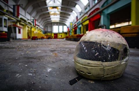 Verlassene Kartbahn | Credit: urbex_photography_roli