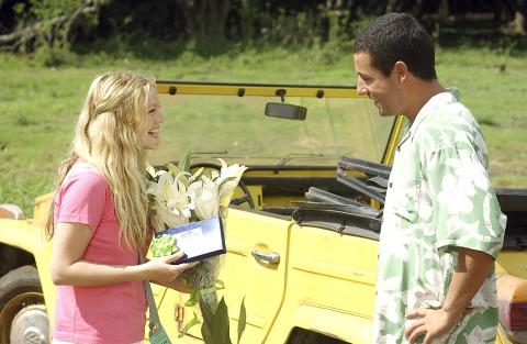 """50 First Dates"" Adam Sandler, Drew Barrymore"