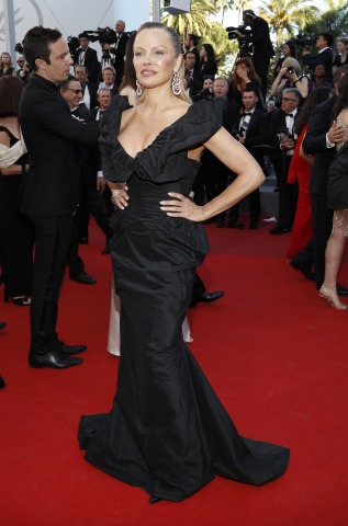 Pamela Anderson 70th Annual Cannes Festival