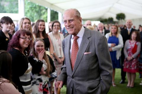 Prinz Philip bei einem seiner zahlreichen Staatsbesuche | Credit: Jane Barlow/PA/picturedesk.com