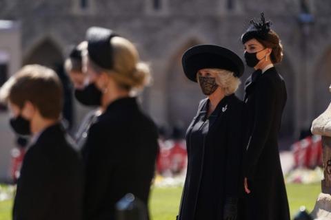 Herzogin Camilla bei der Trauerfeier für Prinz Philip | Credit: VICTORIA JONES / AFP / picturedesk.com