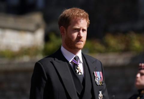 Prinz Harry in Trauer um Prinz Philip | Credit: VICTORIA JONES / AFP / picturedesk.com