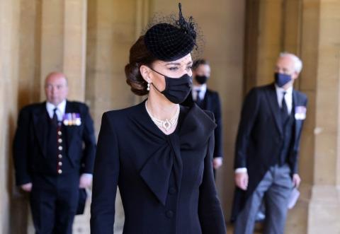 Herzogin Kate bei der Trauerfeier für Prinz Philip | Credit: CHRIS JACKSON / AFP / picturedesk.com
