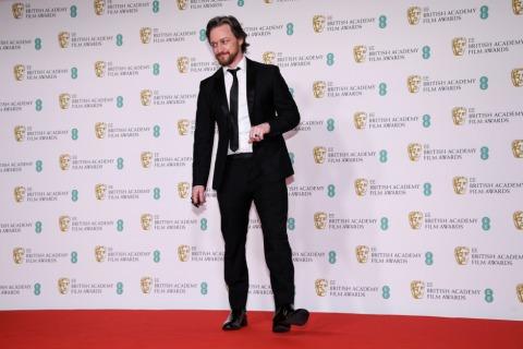 James McAvoy bei den BAFTA Film Awards 2021 | Credit: Alberto Pezzali / AP / picturedesk.com