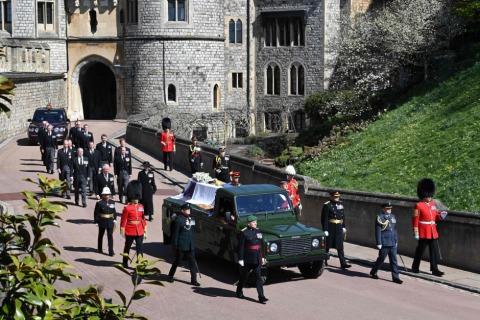 Auf ein Staatsbegräbnis hatte Prinz Philip verzichtet | Credit: LEON NEAL / AFP / picturedesk.com