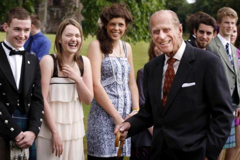 Prinz Philip galt als gesellig und charmant | Credit: Danny Lawson/PA/picturedesk.com