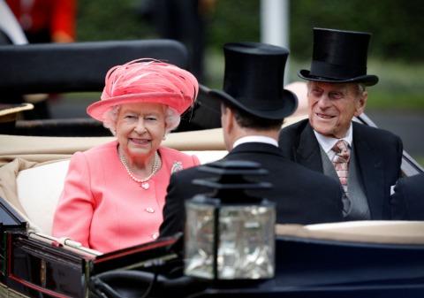 Prinz Philip und Königin Elisabeth II. 2016 | Credit: Adrian Dennis/AFP/picturedesk.com