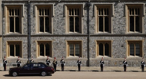 Die Queen wurde im Bentley zur Trauerfeier gefahren | Credit: ADRIAN DENNIS / AFP / picturedesk.com