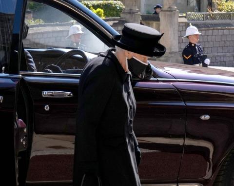 Gebrechlich und gebrochen: Queen Elizabeth II. | Credit: JONATHAN BRADY / AFP / picturedesk.com