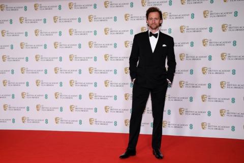 Tom Hiddleston bei der BAFTA 2021 | Credit: Alberto Pezzali / AP / picturedesk.com