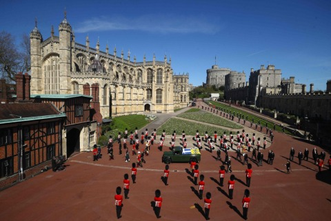 Windsor Castle - Prinz Philips Ort | Credit: HANNAH MCKAY / AFP / picturedesk.com