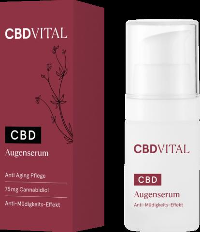 Augenpflege Produkt von CBD Vital