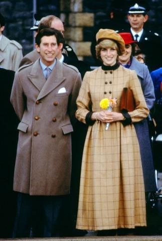 Diana neben Prinz Charles