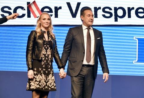 Wahlfeier 2017 mit HC und Philippa Strache