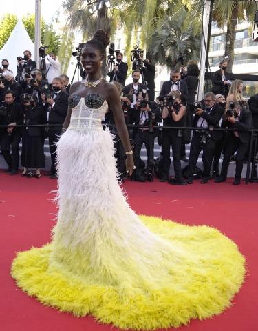 Jodie Turner-Smith am Roten Teppich in Cannes