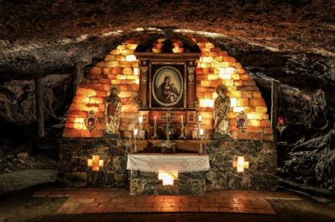 Die Barbarakapelle in den Salzwelten Altaussee   Credit: Salzwelten/Kernmayer