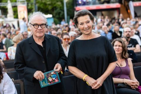 Michael Köhlmeier und Gabriele Heinisch Hosek