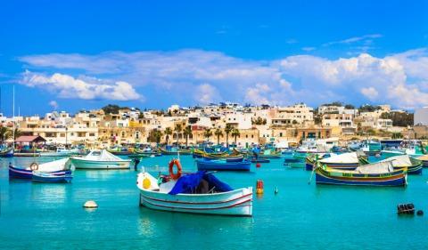 Eine der zahlreichen schönen Hafeneinfahrten Maltas   Credit: Visit Malta