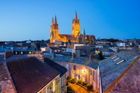 Eine von vielen malerischen Städten in Cornwall - Truro | Credit: iStock.com/ianwool