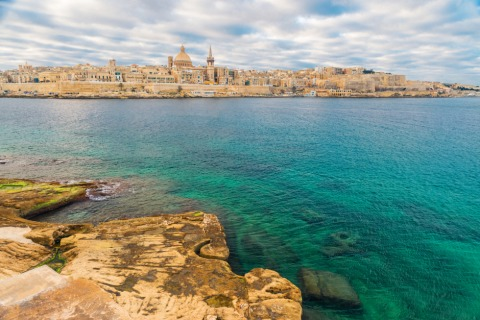 Prächtige Bauten prägen Valetta   Credit: Visit Malta