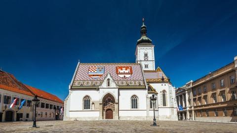 Die St. Markus Kirche in Zagreb | Credit: Marija Gaíparoviç