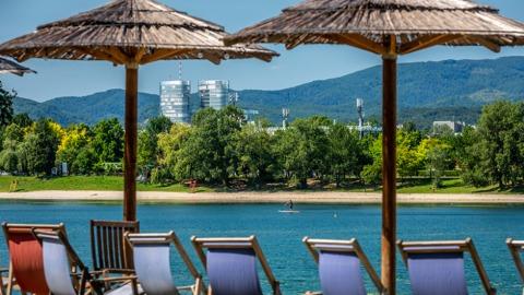Der Jarun-See in Zagreb | Credit: Julien Duval