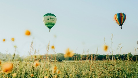 Croatia Hot Air Balloon Rally in Zagorje | Credit: Petar Kreíimir Furjan
