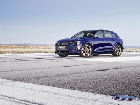 Audi e-tron S | Credit: Audi AG