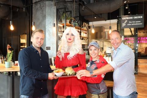Die Eröffnung von Le Burger in Graz