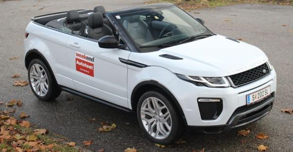 Test: Range Rover Evoque Cabrio 2.0 TD4