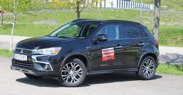 Mitsubishi ASX 2017: Pures SUV-Vergnügen