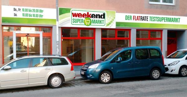 """Weekend Verlag startet mit """"Test""""-Supermarkt in Wien"""